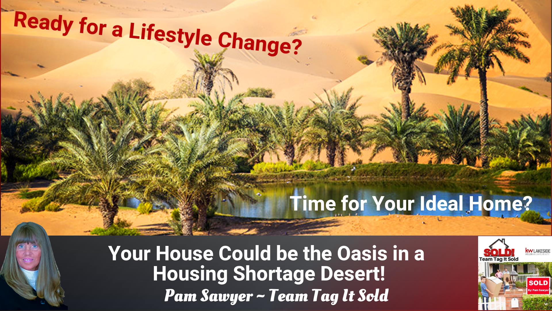 Your Home Could be the Oasis