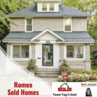 Romeo Mi Homes Sold - Team Tag It Sold